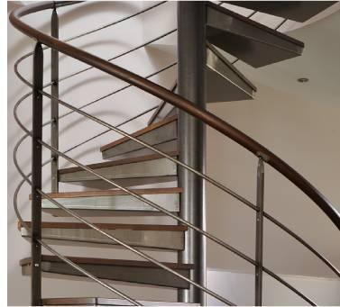 ysofer l 39 escalier des professionnels finitions acier. Black Bedroom Furniture Sets. Home Design Ideas