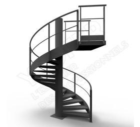 escaliers de type h lico dal ysofer. Black Bedroom Furniture Sets. Home Design Ideas