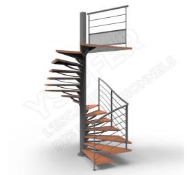 escaliers h lico dal pour habitat ysofer. Black Bedroom Furniture Sets. Home Design Ideas