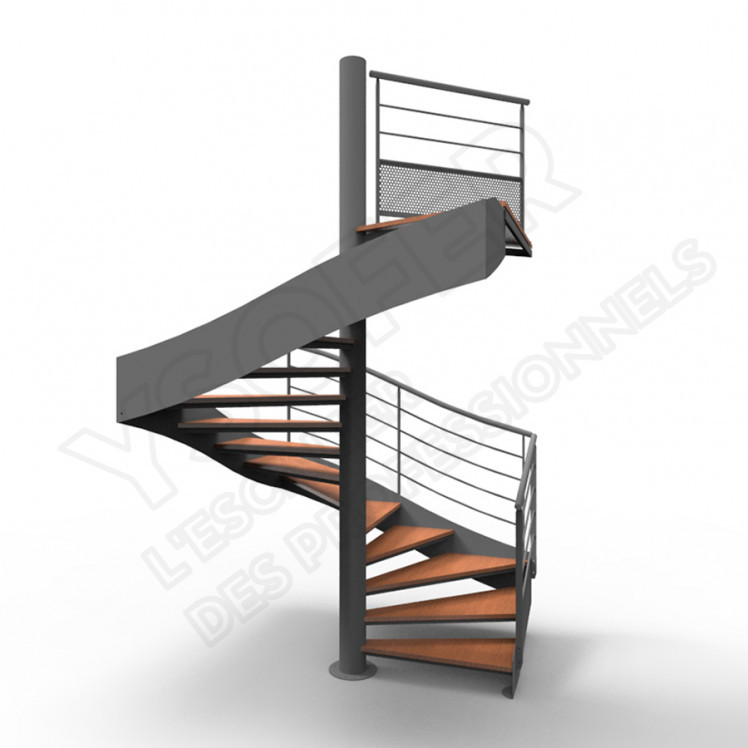ysocar escalier metal helicoidal ysofer. Black Bedroom Furniture Sets. Home Design Ideas