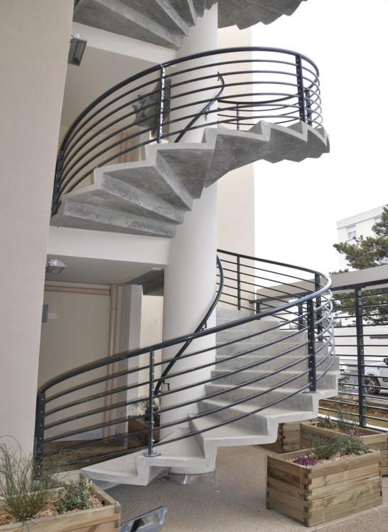 escalier ysobeton ysofer. Black Bedroom Furniture Sets. Home Design Ideas